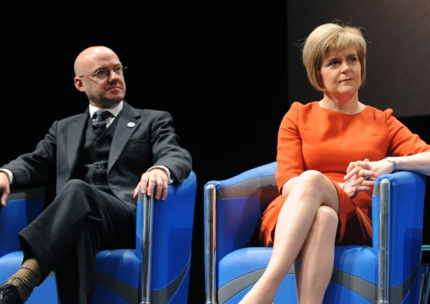 Image result for nicola sturgeon and patrick harvey