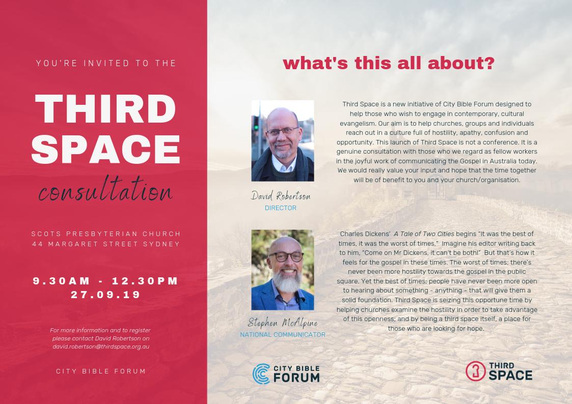 Third Space Invite